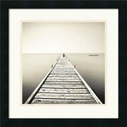 "Amanti Art Marcin Stawiarz ""Waiting"" Framed Print Art, 18"" x 18"""