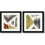 "Amanti Art Rita Vindedzis ""Vibrant & Vivid"" Framed Art Set, 18"" x 18"""