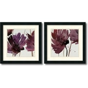 "Amanti Art Natasha Barnes ""Room For More"" Framed Print Art Set, 18"" x 18"""