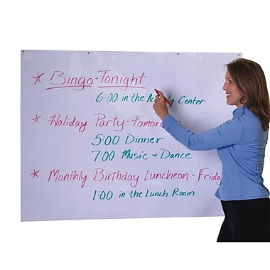 S&S® Jumbo Laminated Message Board With Grommets