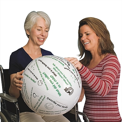 S&S® Toss 'n Talk-About® Getting Acquainted Ball