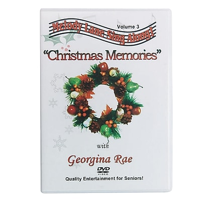 S&S® Christmas Memories Sing-Along DVD