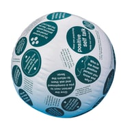 S&S® Toss 'n Talk-About® Positive Attitude Ball