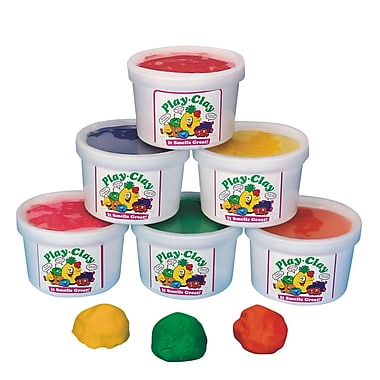 S&S® Scented Clay Pack, 6/Pack