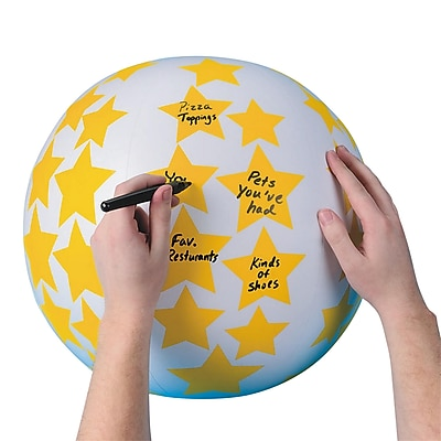 S&S® Create Your Own Toss 'n Talk-About® Ball