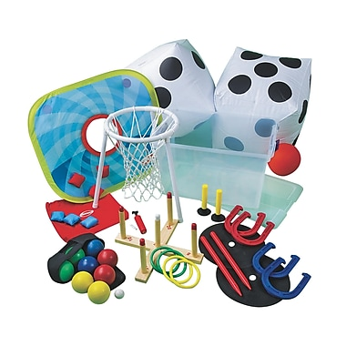 S&S® Outdoor Games Easy Pack