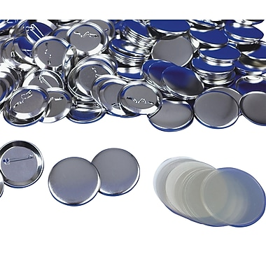 Tecre Button AC600 Parts for Button Maker, 100/Pack