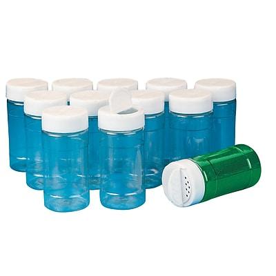 S&S® 12 oz. Shaker Top Bottle, 12/Pack