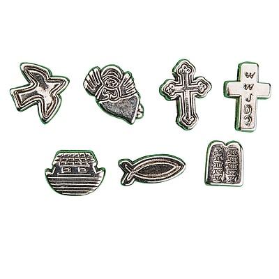 S&S® Metallic Christian Symbol Beads Bag, 200/Bag