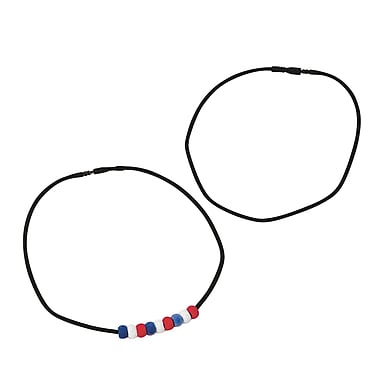 Pepperell Velvet Silkies Necklaces, Black, 12/Pack