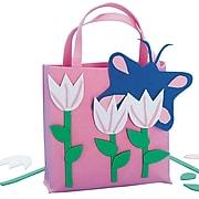 Craft EXpress Pink Tulips Tote Bag Craft Kit, 12/Pack