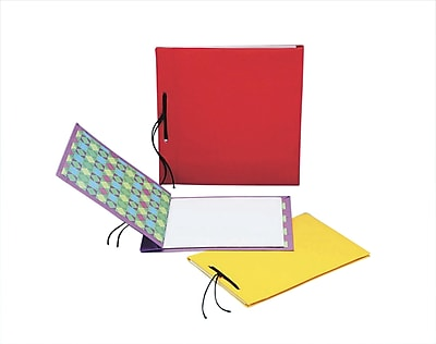 S&S® Allen Diagnostic Module Fabric Covered Notebooks, 24/Pack
