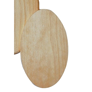 S&S® Unfinished Oval Plaques, 12/Pack