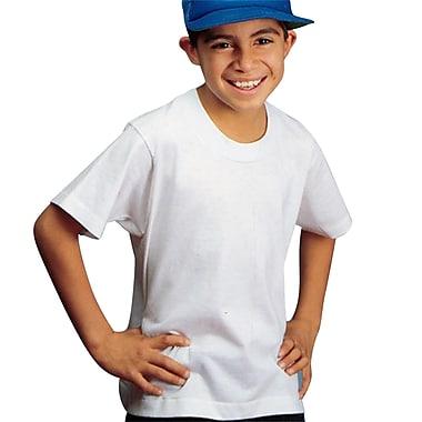 S&S® Child Sized Medium First-Quality T-Shirt, White