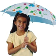 "Color-Me™ 16"" Umbrella, White"