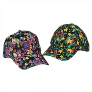 S&S® Velvet Art Baseball Caps, 12/Pack