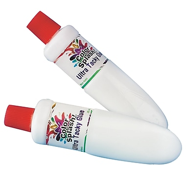 Color Splash Ultra Tacky All Purpose Craft Glue 0.25 oz., 36/Pack