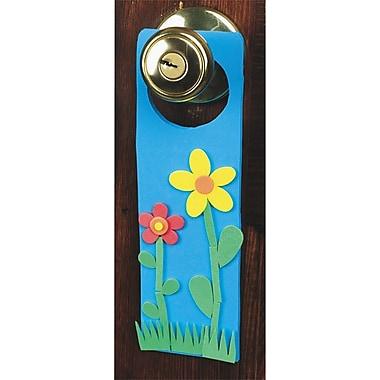 Geeperz™ Super Foam® Dazzling Doorknob Hangers Craft Kit, 24/Pack