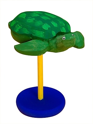 Geeperz™ Carved Wood Turtle Craft Kit, 12/Pack