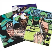 Geeperz™ Birds of Prey Craft Kit, 12/Pack