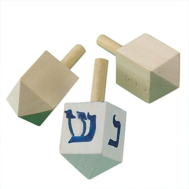 S&S® Judaic Crafts Paint-A-Dreidel Craft Kit, 24/Pack