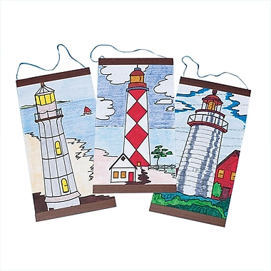 Geeperz™ Lighthouse Panels Craft Kit, 24/Pack