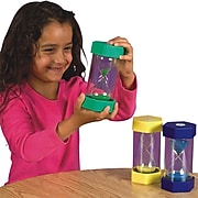 S&S® 5 Minute Sand Timer, Blue
