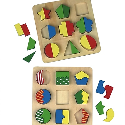 S&S® Wood Puzzle Board Set