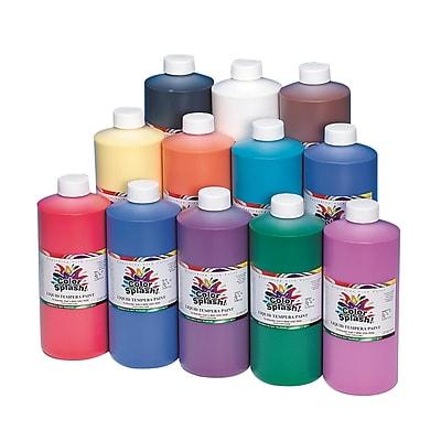 Color Splash® 32 oz. Liquid Tempera Paint, Assorted Colors