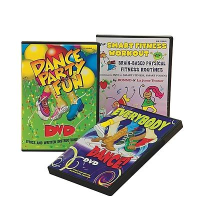 Kimbo® Kids Fitness DVD Set, 3/Pack