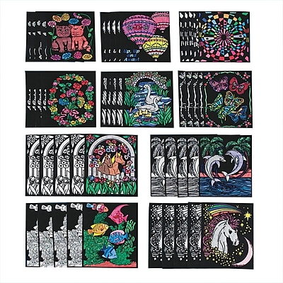 S&S® Velvet Art Posters, 50/Pack