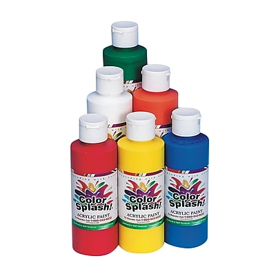 Color Splash 8 oz. Acrylic Paint 12770