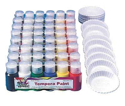 Color Splash® 3/4 oz. Liquid Tempera Paint Pass Around Pack