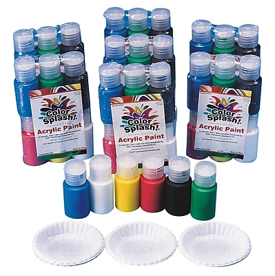 Color Splash® 3/4 oz. Acrylic Paint Pass Around Pack
