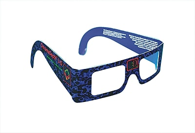 Geeperz ChromaDepth 3-D Glasses, 12/Pack 15545