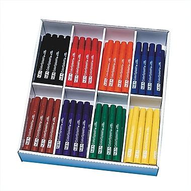 Color Splash Chisel Point Permanent Marker, Assorted, 216/Pack