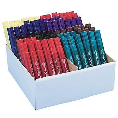 Color Splash Chisel Point Permanent Marker, Assorted, 72/Pack