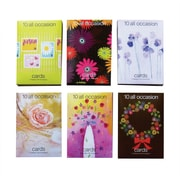 S&S® All Occasion Value Greeting Card, 120/Pack