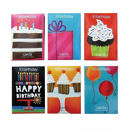 httpswwwstaples 3pcoms7is - Birthday Card Packs