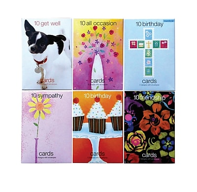 SSR Value Greeting Cards Assorted 120 Pack