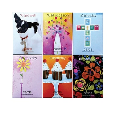 S&S® Value Greeting Cards, Assorted, 120/Pack