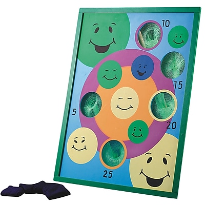 S&S® Smile Bean Bag Toss Game