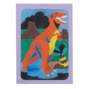 "S&S® 5"" X 7"" Dinosaurs Sand Art Board, 12/Pack"