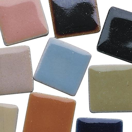 "S&S® 7/8"" Italian Mosaic Tile, 5 lbs., 450/Pack"