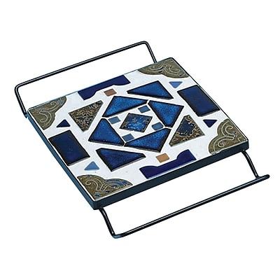 S&S® Square Cradle Trivet, Black, 12/Pack