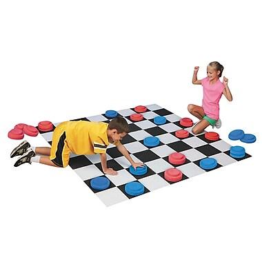S&S® Jumbo Checkers Set