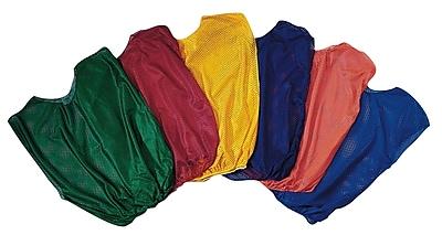 Spectrum™ Youth Size Nylon Mesh Pinnies, Green