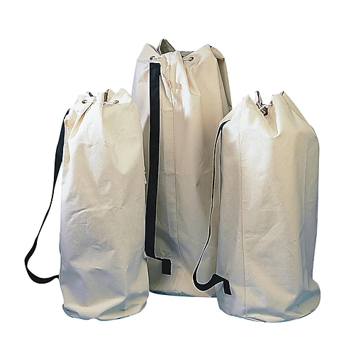 """S&S® 17"""" X 40"""" Natural Canvas Equipment Tote"""
