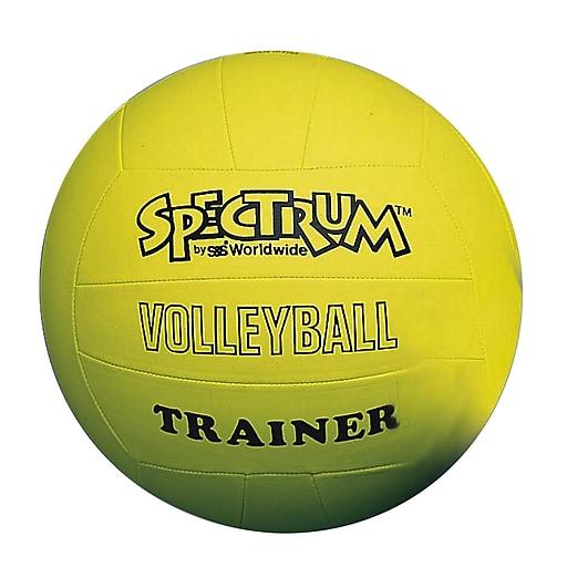 "Spectrum™ Trainer Volleyball, 10""(Dia.), Yellow"