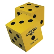 "Gator Skin® Softi Dice, 5"", Yellow"